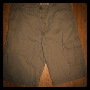 Nwot Levi's khaki knee length cargo pocket on left